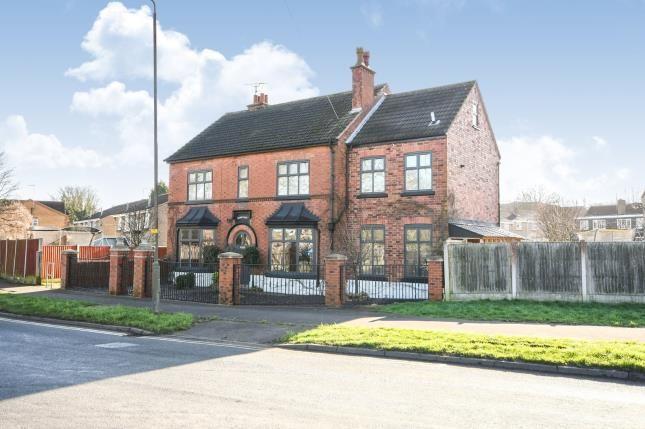 Front of Main Street, Shirebrook, Mansfield, Derbyshire NG20