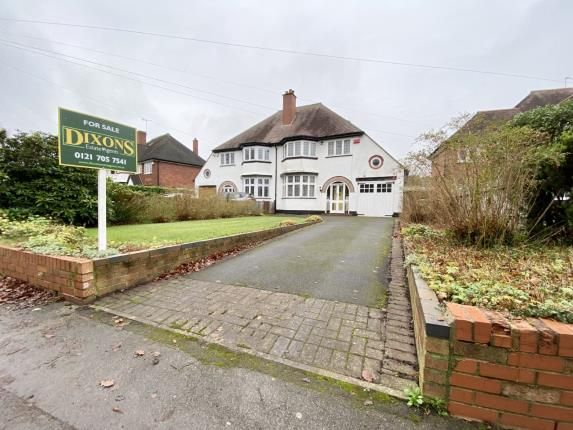 Thumbnail Semi-detached house for sale in Dove House Lane, Solihull, West Midlands