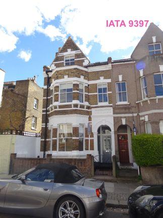 Thumbnail 2 bed maisonette to rent in Shelgate Road, London