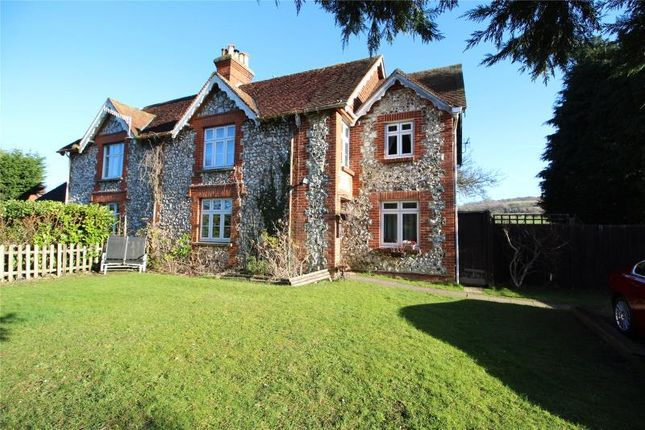 Thumbnail Semi-detached house for sale in Maxwell Cottages, Findon Road, Findon