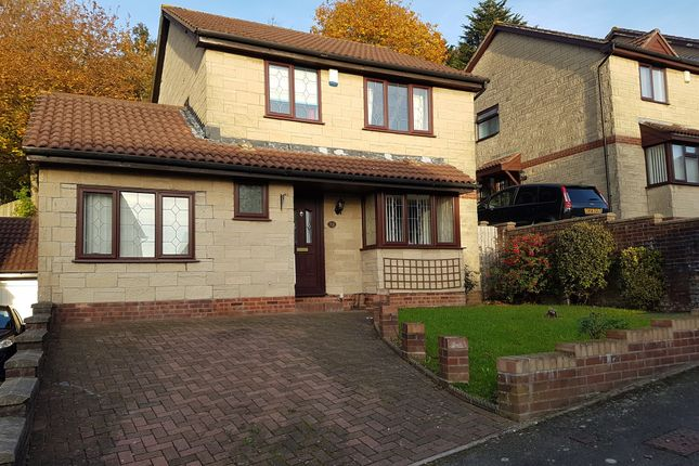Thumbnail Detached house for sale in Castle Rise, Rumney, Cardiff