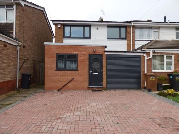 Thumbnail End terrace house for sale in Langley Hall Road, Olton, Solihull, West Midlands