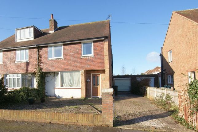 Thumbnail Semi-detached house for sale in Bentham Road, Alverstoke