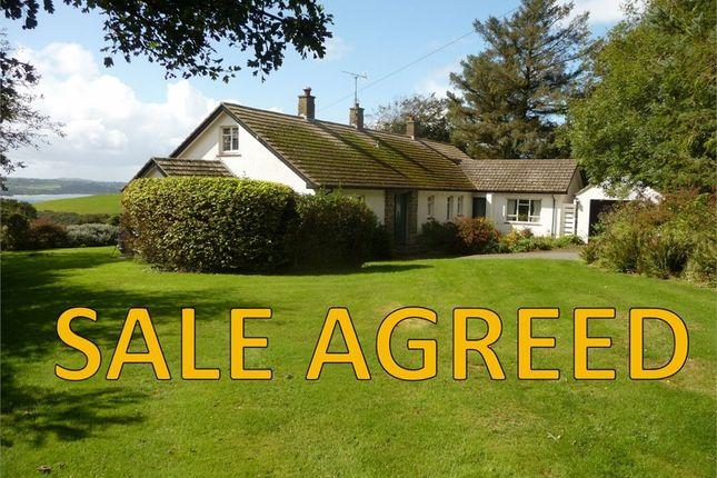 Thumbnail Detached bungalow for sale in Tyrhibin Newydd, Morfa, Newport, Pembrokeshire