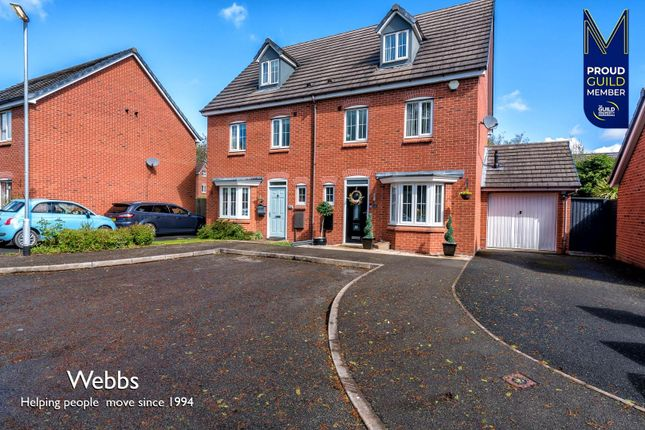 4 bed semi-detached house for sale in The Spindles, Great Wyrley, Walsall WS6