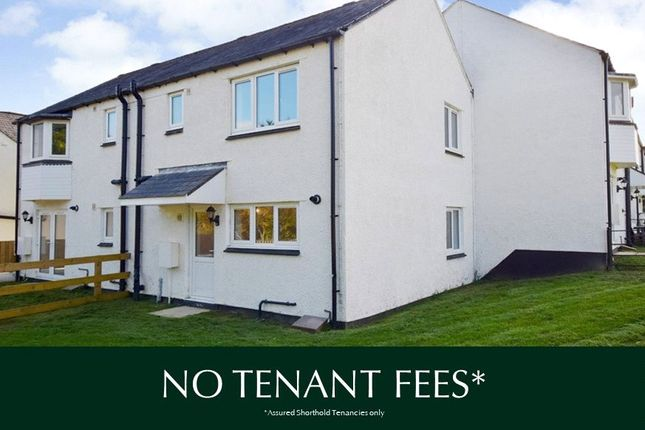 Thumbnail Semi-detached house to rent in Chudleigh, Newton Abbot, Devon