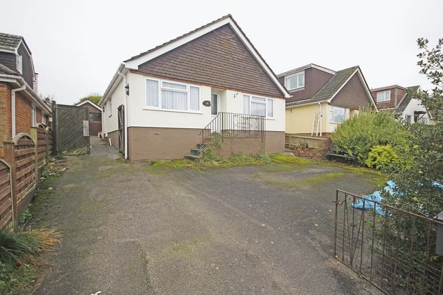 Thumbnail Detached bungalow to rent in Anderwood Drive, Sway, Lymington