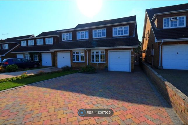 4 bed semi-detached house to rent in Tindall Close, Romford RM3