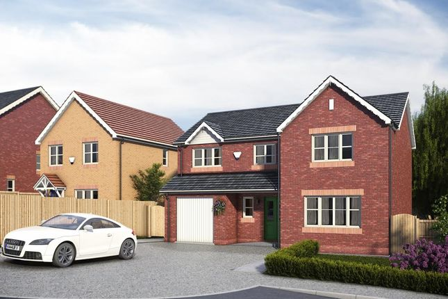 Thumbnail Detached house for sale in Pentrosfa, Llandrindod Wells