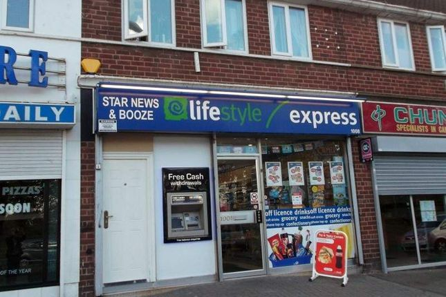 Thumbnail Retail premises for sale in Chester Road, Birmingham
