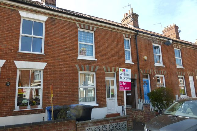 Thumbnail Terraced house to rent in Portland Street, Norwich
