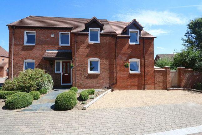 Thumbnail Detached house for sale in Bremen Grove, Shenley Brook End, Milton Keynes