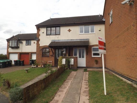 Thumbnail Terraced house for sale in Hammond Grove, Kirkby-In-Ashfield, Nottingham, Nottinghamshire