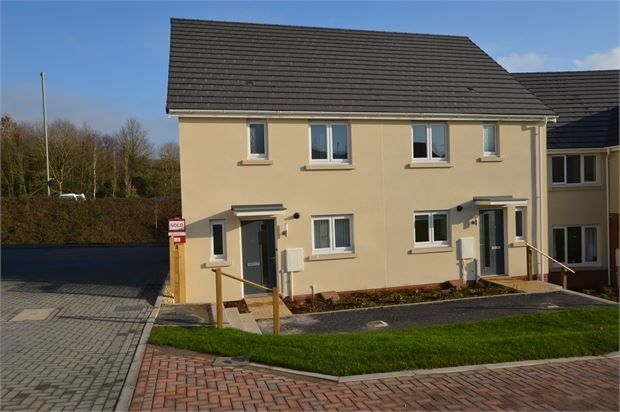 Thumbnail Semi-detached house to rent in Chariot Drive, Kingsteignton, Newton Abbot, Devon.