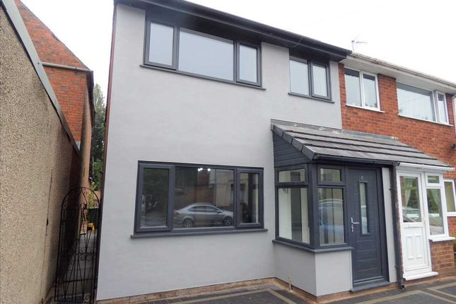 Thumbnail Semi-detached house for sale in Bell Lane, Bloxwich, Walsall