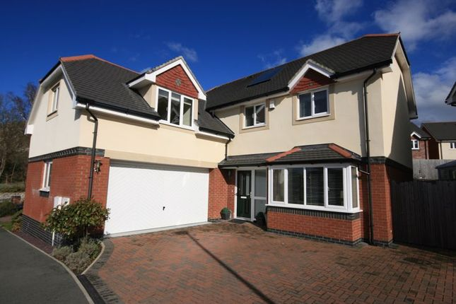 Thumbnail Detached house for sale in Gwel Y Castell, Llandudno Junction