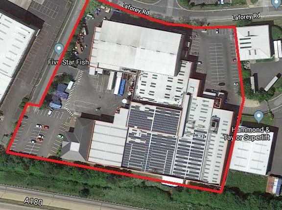 Thumbnail Light industrial for sale in Five Star Fish Company Ltd, Athenian Way, Great Grimsby Business Park, Grimsby, North East Lincolnshire