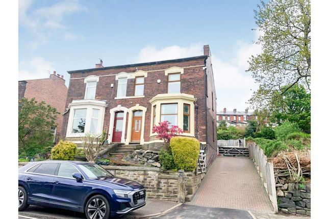 Semi-detached house for sale in Stamford Road, Oldham