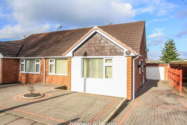 Thumbnail Bungalow for sale in Greenleaf Close, Coventry