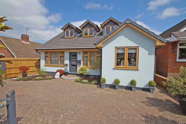 Thumbnail Detached bungalow for sale in Downsell Road, Webheath, Redditch