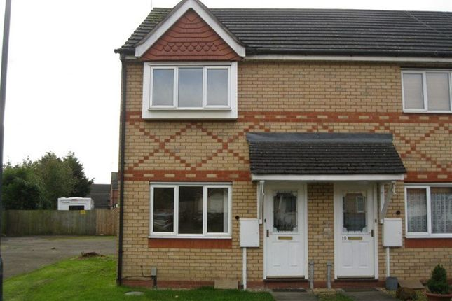 Thumbnail Semi-detached house to rent in Permian Close, Rugby, Warwickshire
