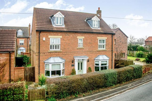 Thumbnail Detached house for sale in Paddock Lodge, Hirst Road, Chapel Haddlesey, Selby