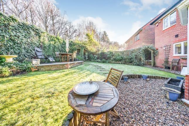 Garden of Copperwood, Norton, Runcorn, Cheshire WA7