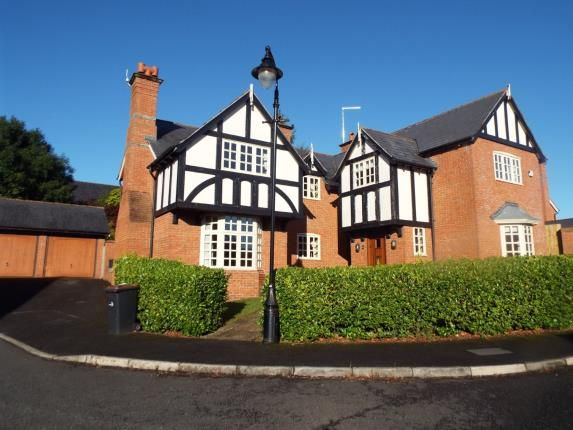 Thumbnail Detached house for sale in Westwood Close, Weston, Crewe, Cheshire