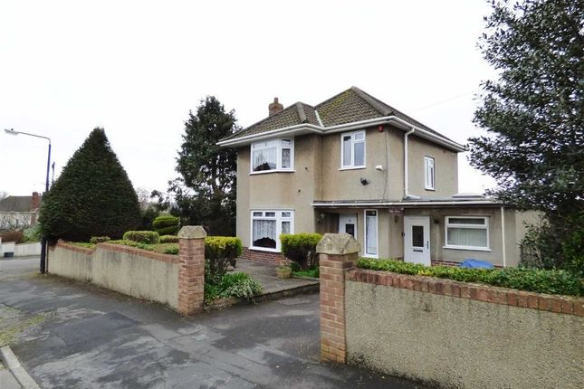 Thumbnail Detached house for sale in Brendon Avenue, Weston-Super-Mare