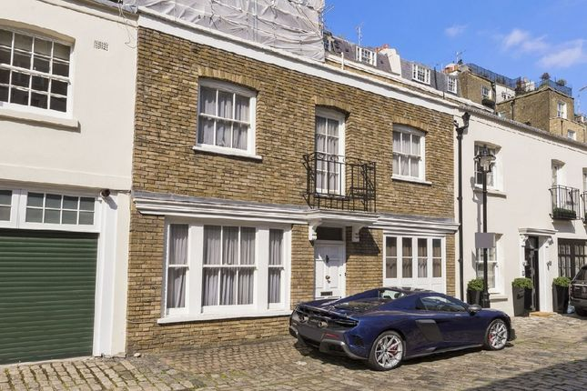 Thumbnail Mews house for sale in Eccleston Mews, London