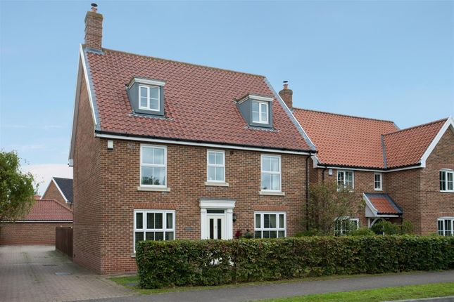 Thumbnail Detached house for sale in New Road, Tacolneston, Norwich