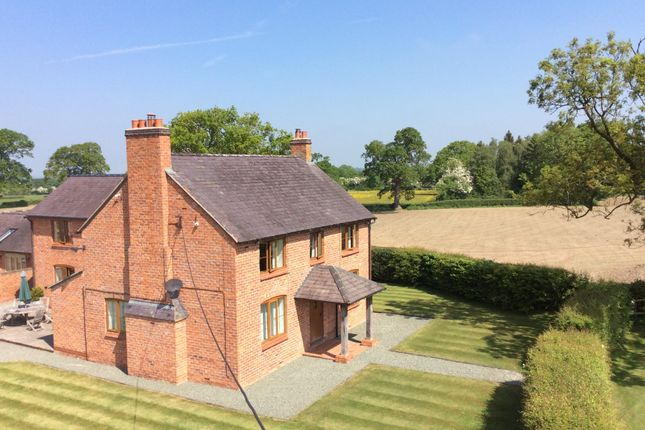 Thumbnail Detached house for sale in Drury Lane, Tybroughton, Whitchurch, Shropshire