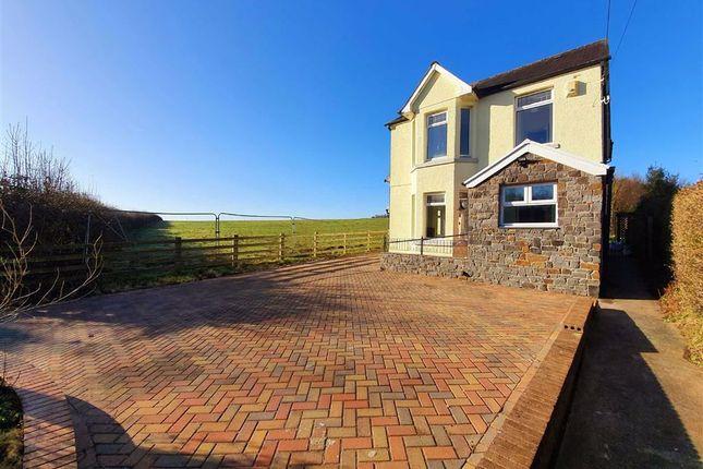 4 bed detached house for sale in Ebenezer Road, Llanedi, Swansea SA4
