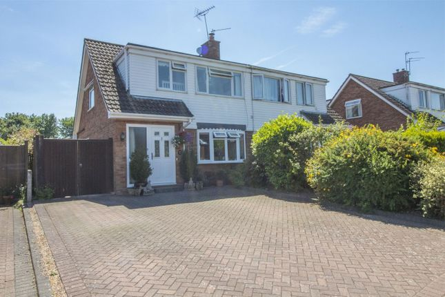 Thumbnail Semi-detached house for sale in Laurel Close, North Warnborough, Hook