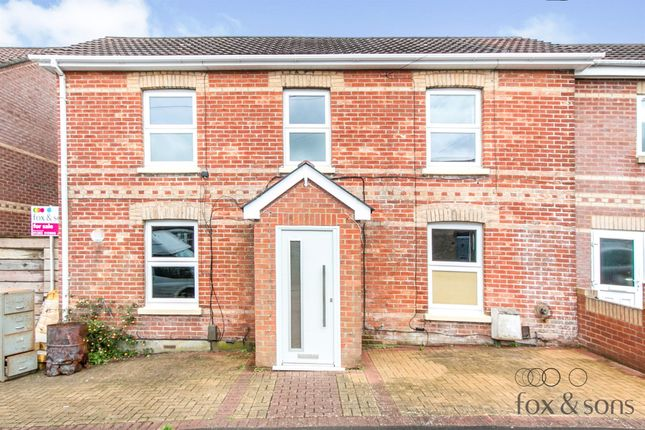 Thumbnail Semi-detached house for sale in Melville Road, Winton, Bournemouth