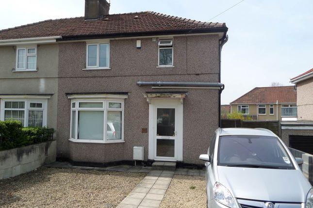 Thumbnail Semi-detached house to rent in Braemar Avenue, Filton Park, Bristol