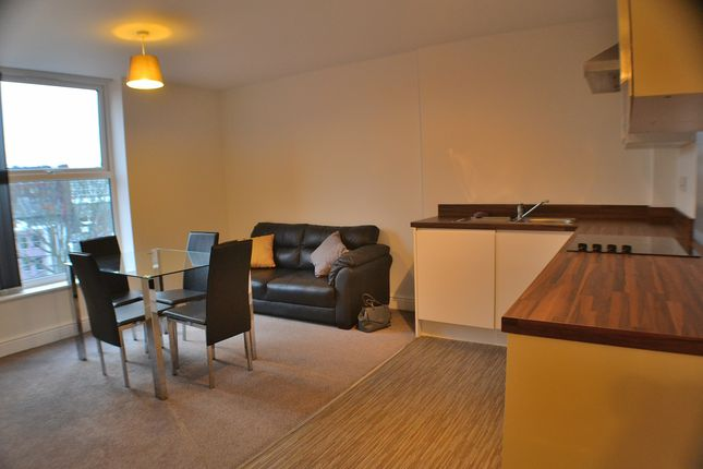 Thumbnail Flat to rent in Friar Gate, Derby