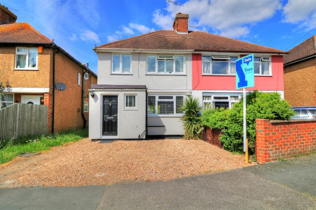 Thumbnail Semi-detached house for sale in Selwood Road, Woking