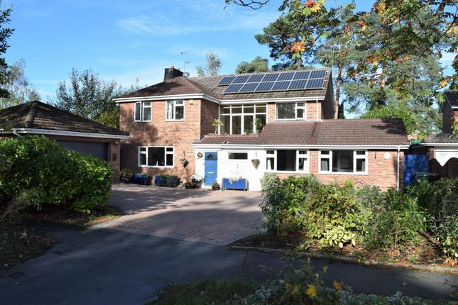 Thumbnail Detached house for sale in Copped Hall Way, Camberley