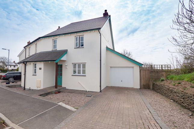 Thumbnail Semi-detached house for sale in Priestacott Park, Kilkhampton, Bude