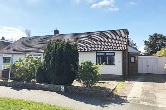 2 bedroom semi-detached bungalow for sale in Nelson Drive, Pensby, Wirral