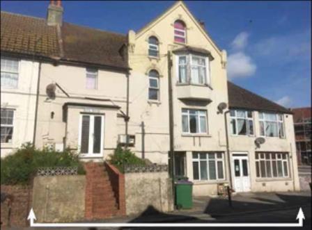 Thumbnail Block of flats for sale in Rupa House, 4-8 Risborough Lane, Cheriton, Folkestone, Kent
