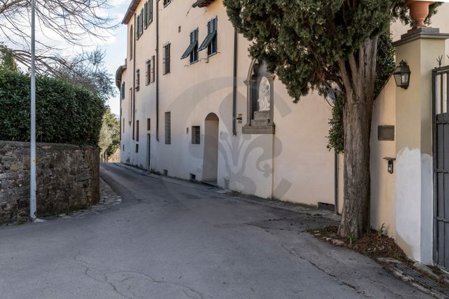 Facade of Via Montalbano, Florence City, Florence, Tuscany, Italy