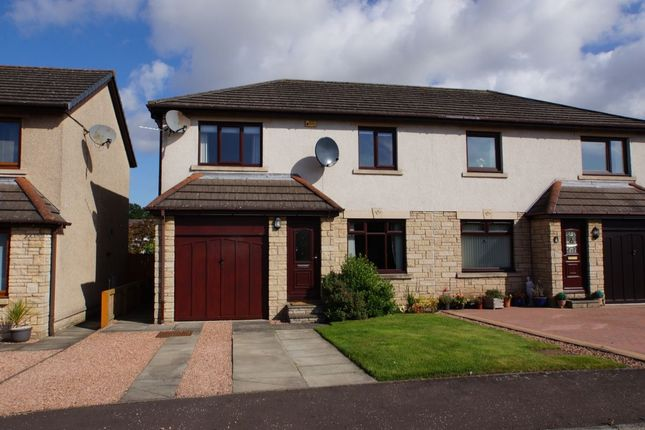 Thumbnail Semi-detached house for sale in The Roundel, Lundin Links, Leven