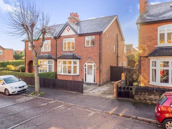 Thumbnail Semi-detached house for sale in Carnarvon Road, West Bridgford, Nottingham