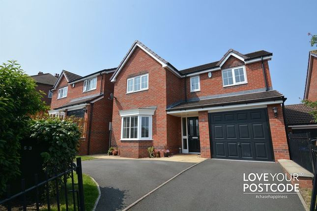 Thumbnail Detached house for sale in Poplar Rise, Oldbury