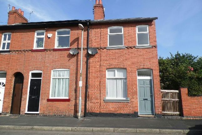 Thumbnail End terrace house to rent in Burns Street, Narborough, Leicester