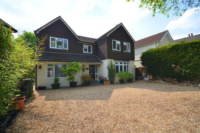 Thumbnail Detached house for sale in Mytchett Road, Mytchett, Camberley, Surrey