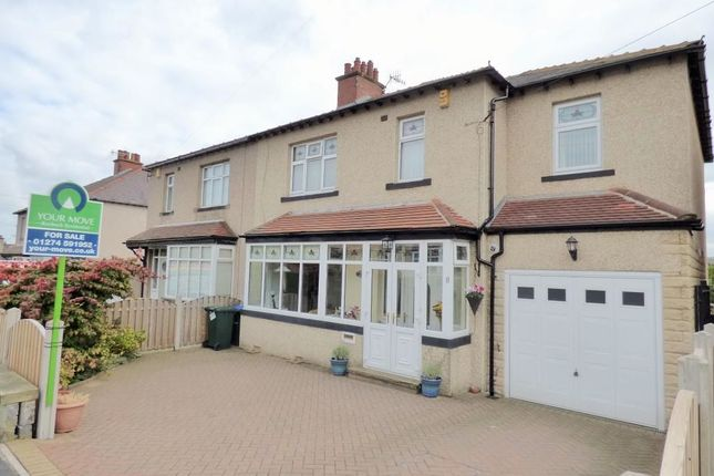 Thumbnail Semi-detached house for sale in Temple Rhydding Drive, Baildon, Shipley