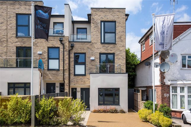 Thumbnail End terrace house for sale in Waterfall Road, New Southgate, London